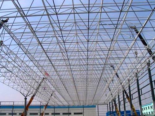 甘肃钢结构网架工程_钢结构网架建造找德天钢构