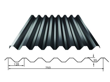 單層彩鋼瓦供應商|大量供應好質量的彩鋼瓦