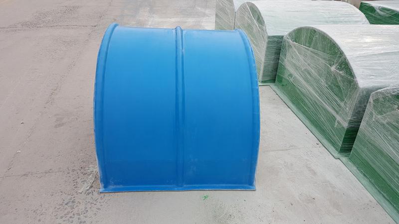 安达输送机玻璃钢防尘罩现货直销、厂家价格优惠