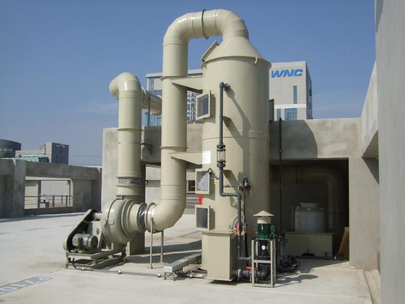河北厂家直销废气处理环保设备水喷淋废气净化塔酸碱洗涤塔