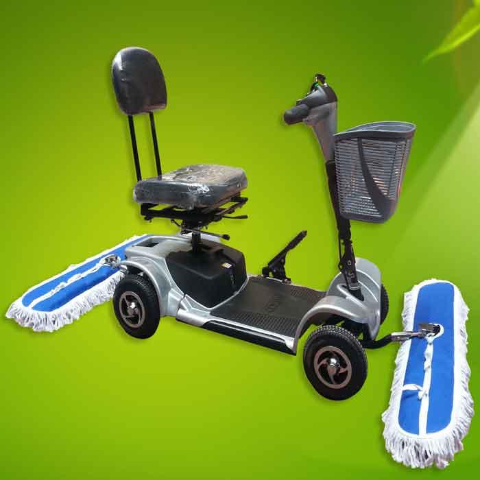 ICS电动尘推车厂家直销,沈阳万洁清洁用品有限公司
