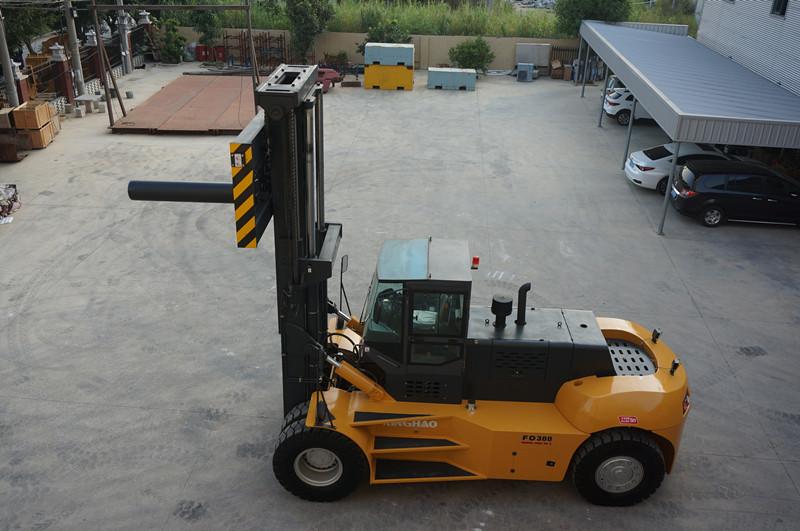 泰州30噸叉車-興皓機械30噸叉車廠家