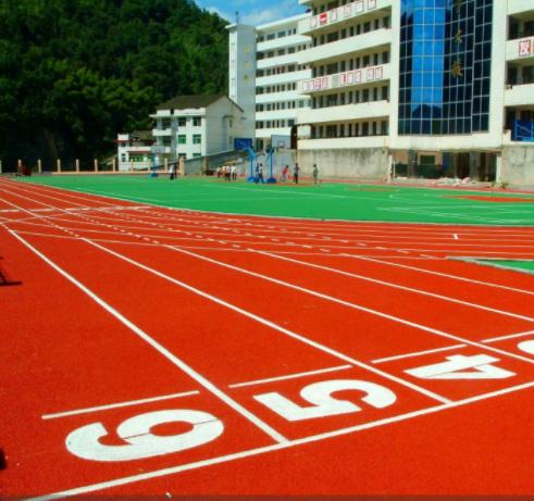 广东厂家批发混合型塑胶跑道-想买高性价混合型塑胶跑道就来广东汉唐体育设施