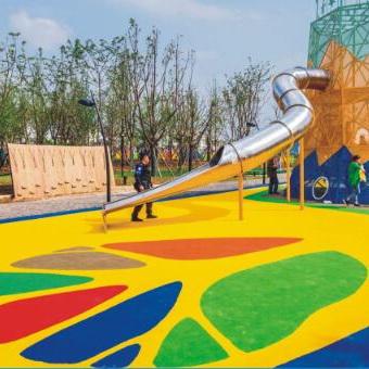 口碑好的彩色透水地坪_要买安全可靠的彩色透水地坪,当选广东汉唐体育设施