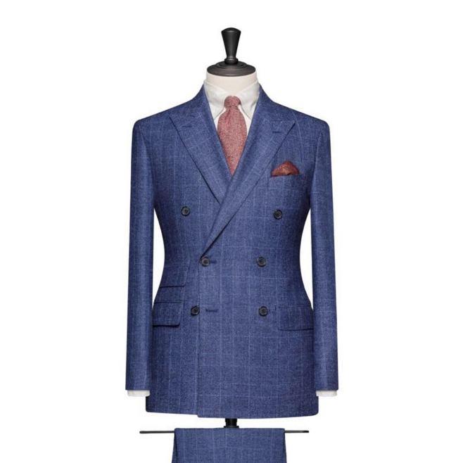成都高級西服定制專家 男士婚禮禮服量身定制 量體裁衣