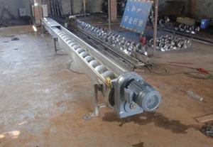 螺旋輸送機單軸輸送設備雙軸輸送機蛟無軸輸送機