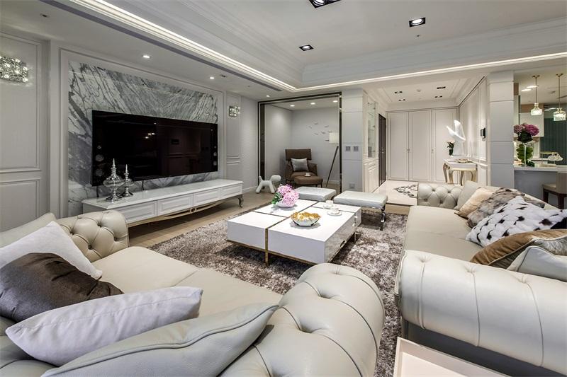 兰州中式客厅装修-白银中式装修设计哪家名声好