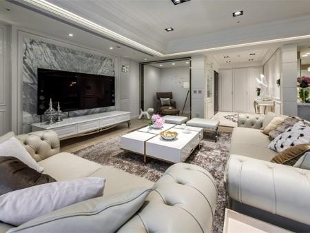白银中式客厅装修