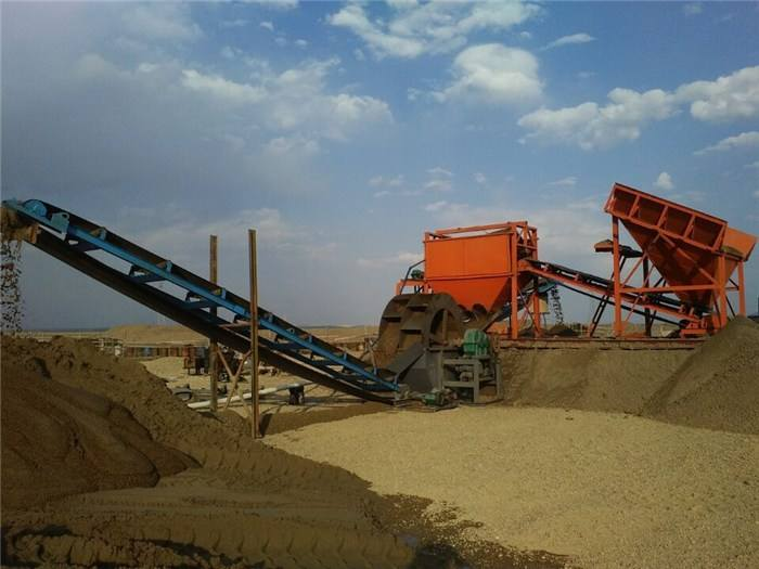 山東洗沙破碎機-選購質量好的洗沙破碎機當選匯達環保