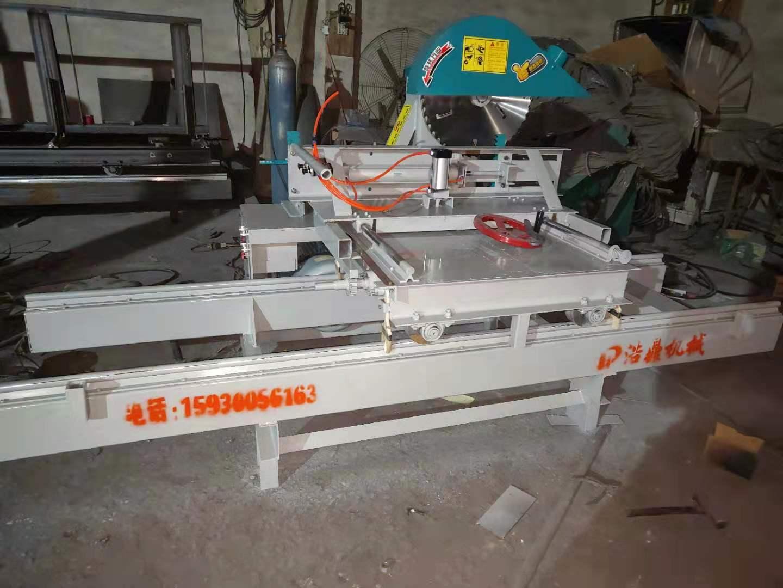 圆木推锯台-浩鼎机械提供有品质的木工推台锯