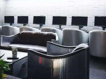鞍山網吧沙發廠家-沈陽市銷量好的網吧沙發,認準鑫海洋沙發廠