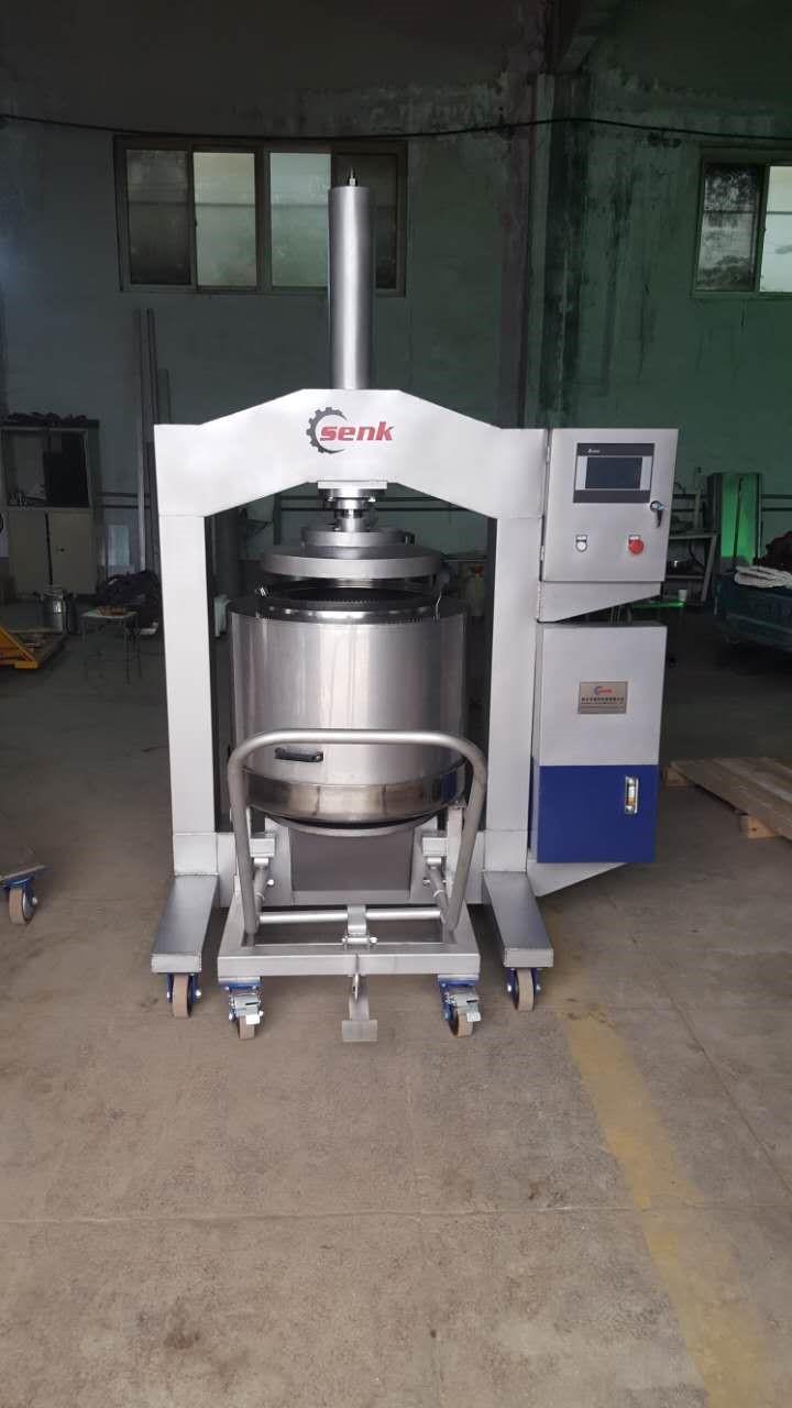 新鄉森科80型自動液壓冰葡萄壓榨機工作效率高