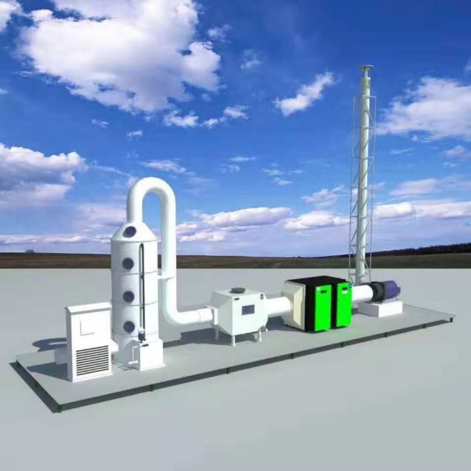 翰泰通工业废气处理工程