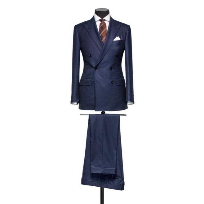 都江堰男士婚礼礼服定制 高级西服定制 可上门量体 一人一版