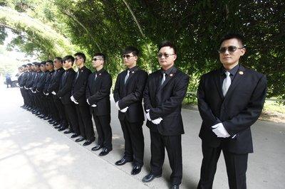 鄂州私人保镖-鸿翔保安靠谱的私人保安保镖护卫推荐
