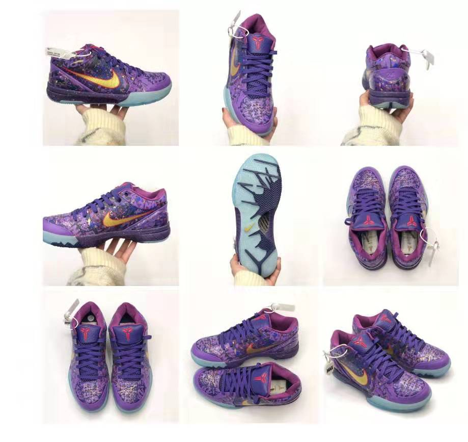 莆田滅世?純原科?比4代毒?液紫黃潑?墨籃球鞋廠家一手貨源