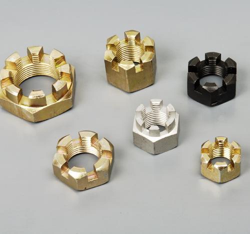 高強度開槽防松螺母|實惠的開槽螺母魁元緊固件供應