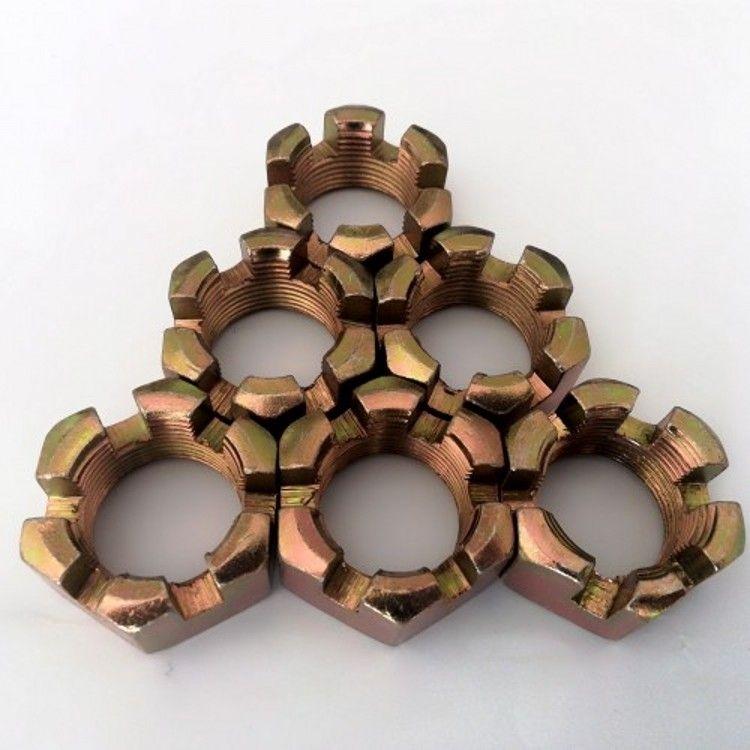六角開槽螺母_魁元緊固件性價比高的開槽螺母出售