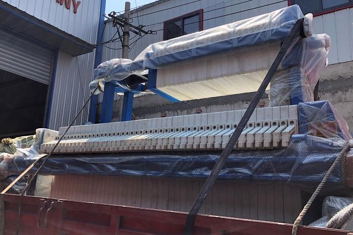 养殖废水压滤机板框压滤机加工定制