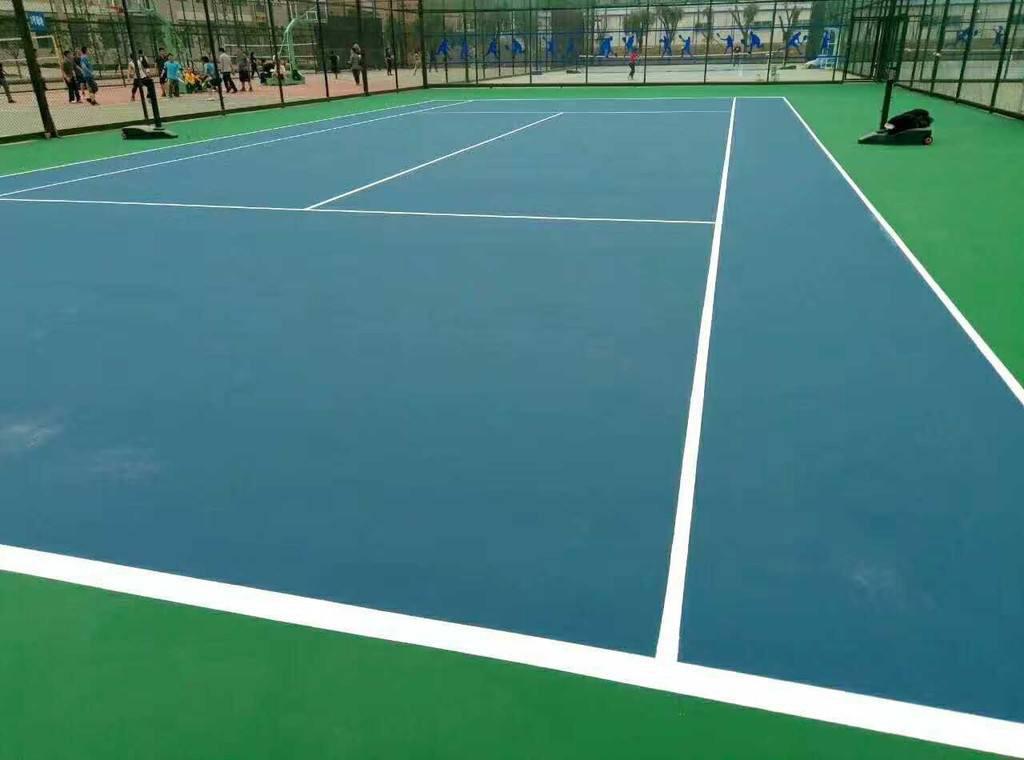 新式的硅PU球场-供应广东专业的硅PU球场