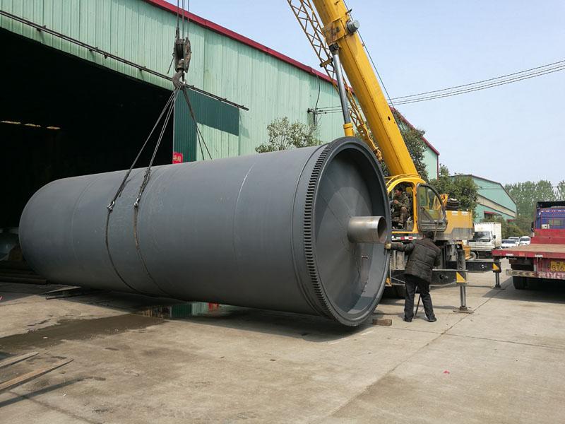 廢輪胎橡膠塑料處理設備選商丘鐘鳴專業生產輪胎裂解設備
