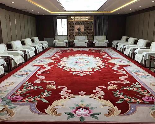 庆阳手工羊毛地毯-兰州高质量的手工羊毛地毯要到哪买