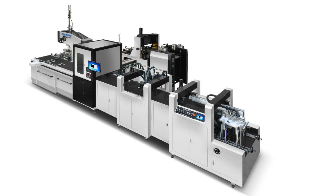 智能纸盒成型机价格-浙江口碑好的ZK-660GN智能全自动局部上胶制盒机哪里有供应