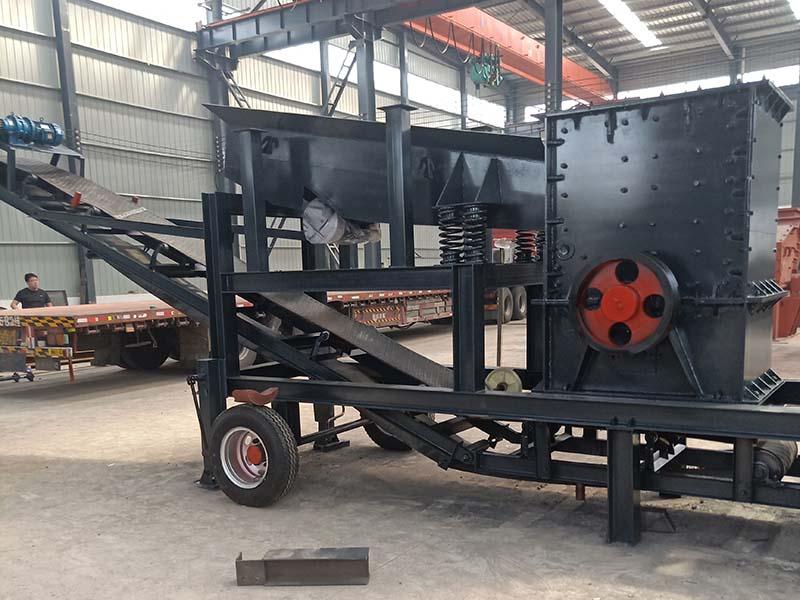 反击式移动破碎机生产厂家-反击式移动破碎站生产厂家