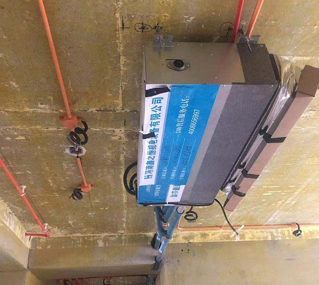 河南家庭住宅三菱海尔重工一拖三中央空调设计安装