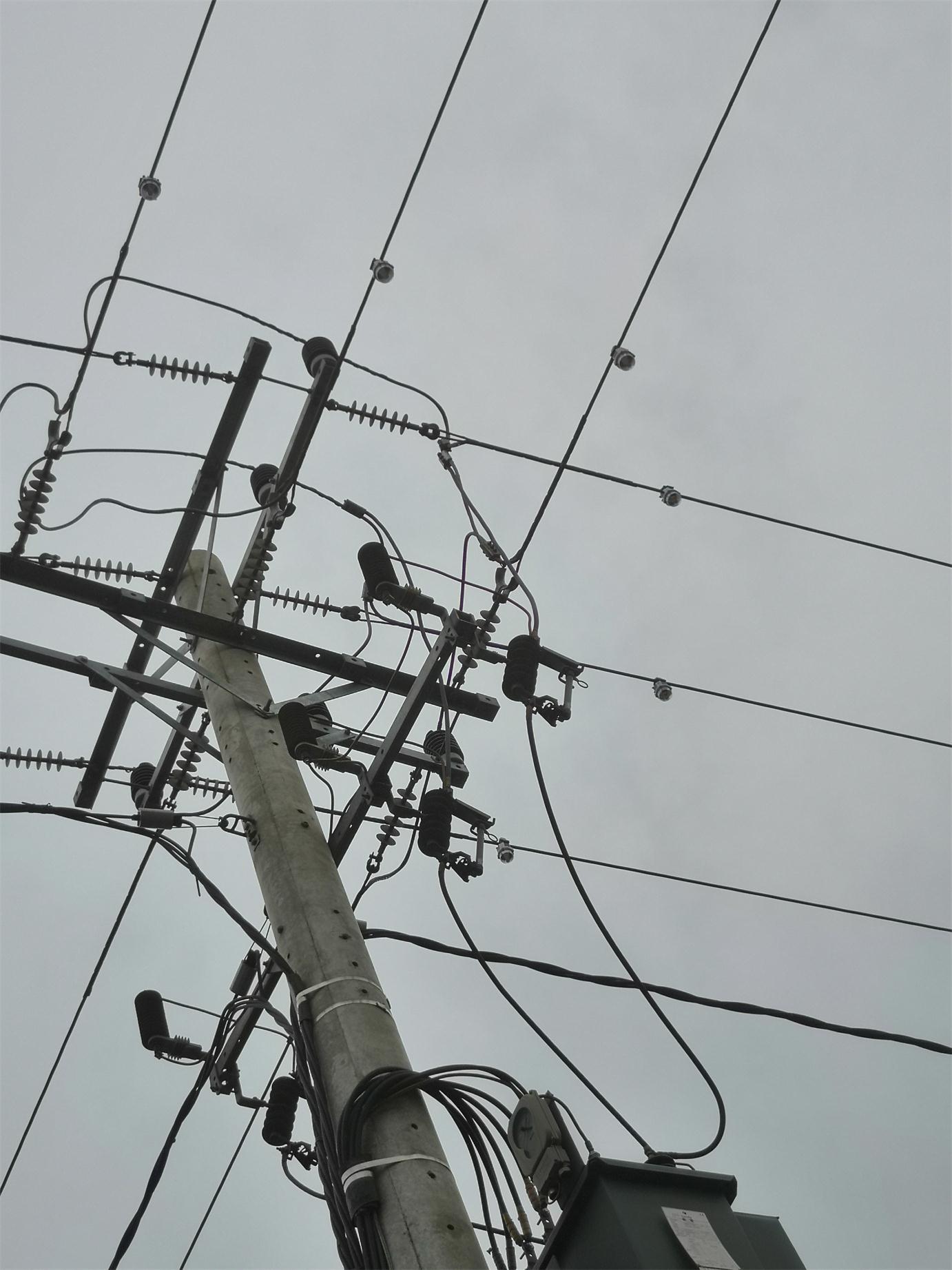 架空电路故障检测警示仪