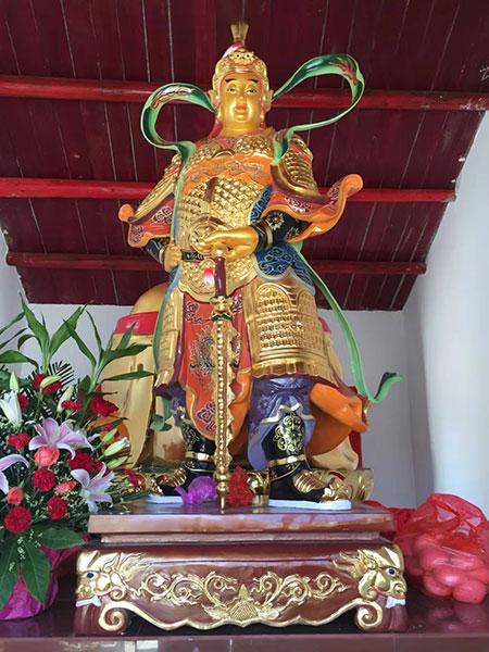 優良韋陀護法銅像廠家推薦-駐馬店大殿韋陀菩薩