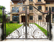 厂家供应铝艺别墅大门-品质好的固格铝艺大门上哪买