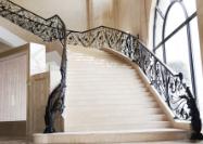 铁艺楼梯扶手多少一米_江苏固格铁艺楼梯扶手可靠供应商