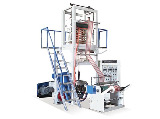 ABA吹膜机供应商-耐用的双色彩条吹膜机华纳机械供应