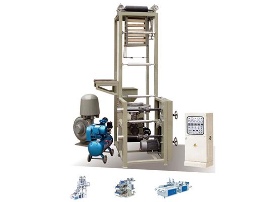 ABA两层共挤吹膜机厂家|专业的双色彩条吹膜机推荐