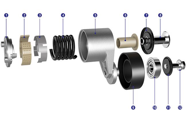 奇瑞分离轴承-想买优惠的涨紧轮-就来天纳福汽车轴承