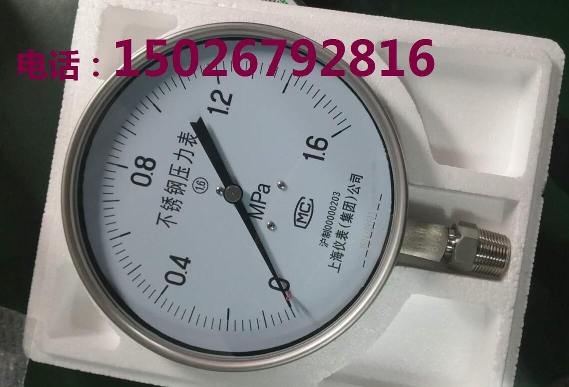 YTHN-100不銹鋼耐震壓力表_精品不銹鋼耐震壓力表選上儀