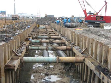 固原钢板桩-质量好的钢板桩,宁夏广晟亨通基础工程倾力推荐