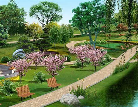 中國服務周到的園林綠化_想找可靠的阜陽園林綠化,就來阜陽淘花源
