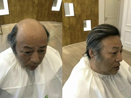 广州男士假发,广州假发,广州男士假发定制