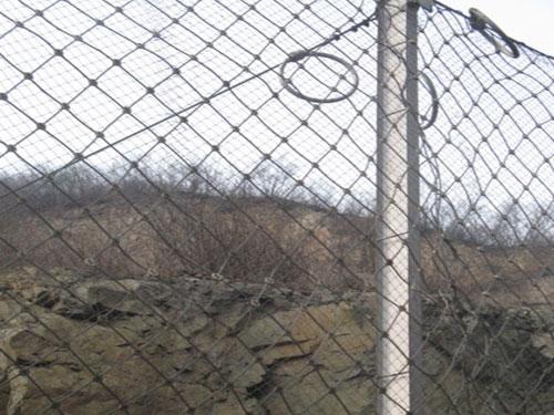 落石攔截柔性被動網15131856266邊坡治理被動攔石網