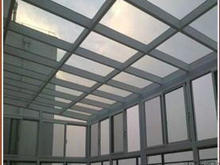 白银钢化玻璃-靠谱的兰州阳光房玻璃供货商