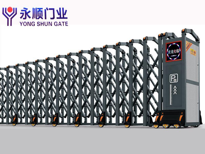 咸陽鋁合金電動門-為您推薦永順門業品質好的鋁合金電動門