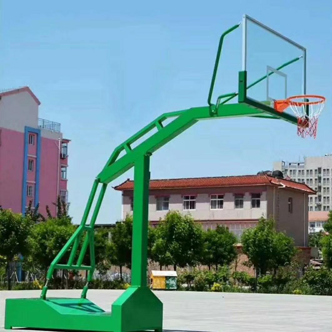 星之健仿液压篮球架