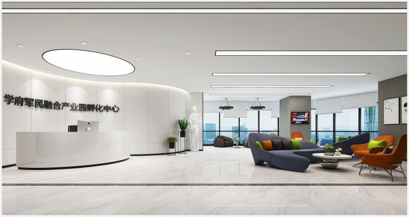 【现代简约风格】北航大厦深圳办公空间设计案例