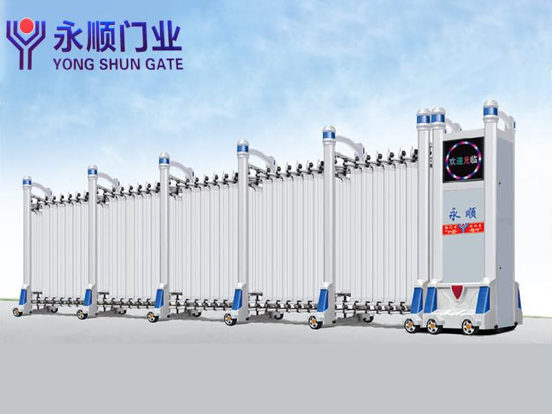 山東規模大的電動伸縮門廠家