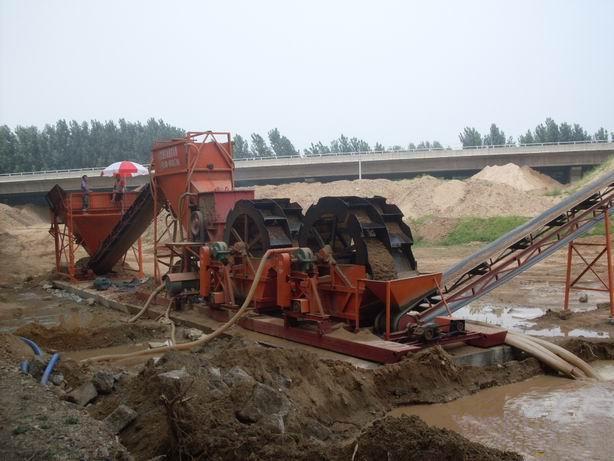 破碎二次水洗制砂生产线