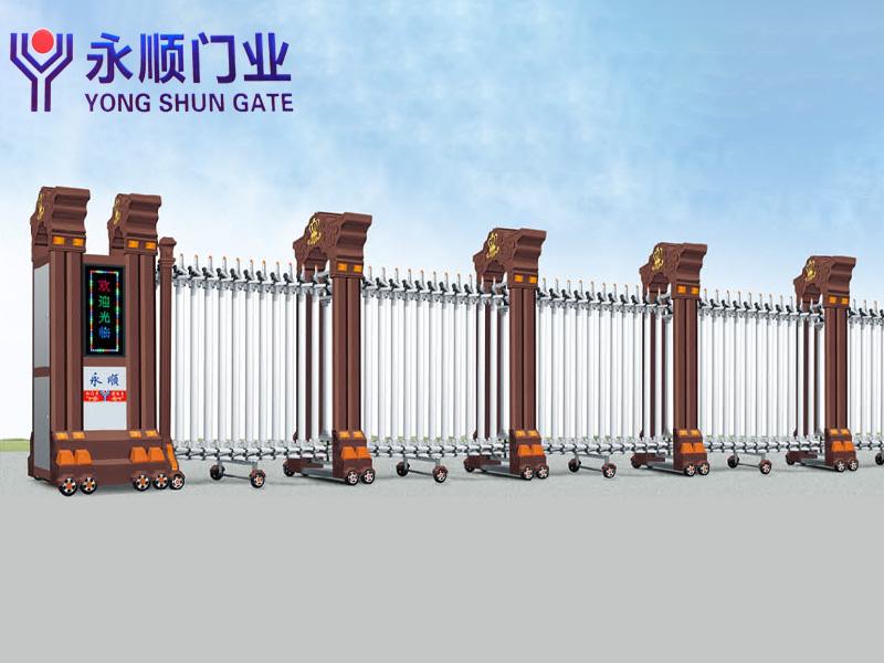 云浮电动伸缩门厂家|临沂知名的电动伸缩门厂家