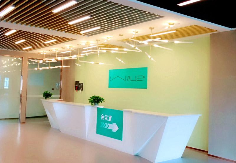 【产业园区】河源智汇谷孵化器办公室设计装修案例