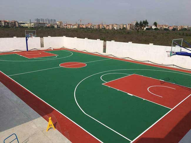 硅pu网球场厂家|南宁星之健物超所值的星之健硅pu球场出售